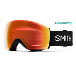 Smith Skyline XL Black ChromaPop Photochromic Red mirror