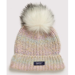 Superdry Sparkle Ombre Beanie Green