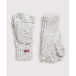 Superdry Gracie Cable Glove Ice Grey