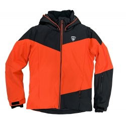 Rossignol Boy Ski Jacket Red/Black
