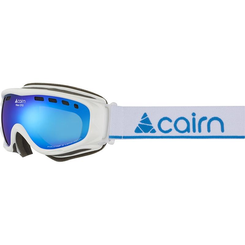 Cairn VISOR OTG Mat White Blue Mirror