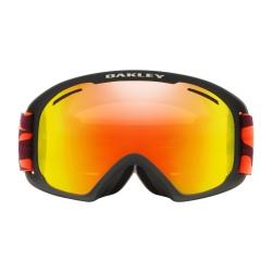Oakley O-FRAME® 2.0 XL Neon Orange Camo w/Fire Iridium & Persimmon
