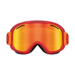 Oakley O-FRAME® 2.O PRO XM Red Neon Orange w/Fire Iridium & Persimmon