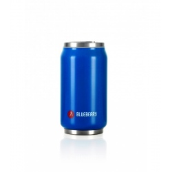 Canette isotherme Les Artistes PULL CAN'IT ISOTHERM 280ML Bleu Brillant