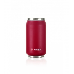Isothermal can Les Artistes PULL CAN'IT ISOTHERM 9.5fl.oz Cherry