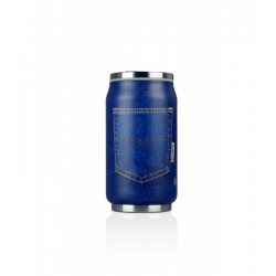 Canette isotherme Les Artistes PULL CAN'IT ISOTHERM 280ML Poche Bleu Jean