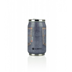 Les Artistes PULL CAN'IT ISOTHERM 280ML Poche Gris Jeans