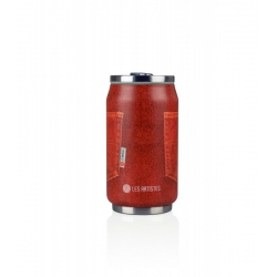 Canette isotherme Les Artistes PULL CAN'IT ISOTHERM 280ML Poche Rouge Jean