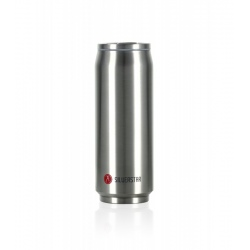 Les Artistes PULL CAN'IT ISOTHERM 500ML Metal Argent Brillant