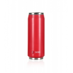 Canette isotherme Les Artistes PULL CAN'IT ISOTHERM 500ML Rouge brillant