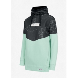 Picture PLANER HOODY Marble Almond Green