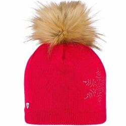 Bonnet Rossignol L3 W FILY FUR Red