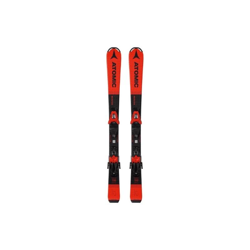 Pack de ski Atomic REDSTER J2 100-120 red/black + fix C 5 GW red/black