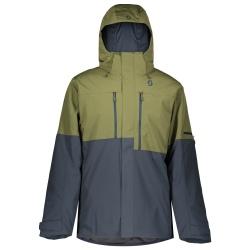 Jacket ULTIMATE DRYO 10 green moss/blue nights/M