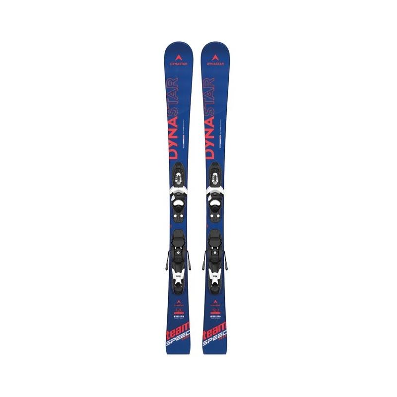 Pack de skis Dynastar TEAM SPEEDZONE KX + fix KID-X 4 B76 black/white