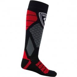 Chaussettes de ski Rossignol L3 WOOL & SILK red