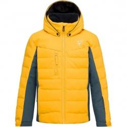 Veste de ski Rossignol BOY POLYDOWN JKT yellow