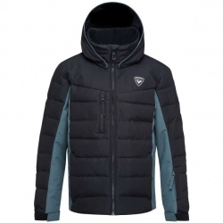 Ski Jacket Rossignol BOY POLYDOWN JKT black