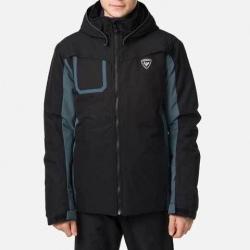 Veste de ski Rossignol BOY SKI JKT black