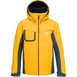 Ski jacket Rossignol BOY SKI JKT deep citrus
