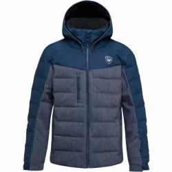Ski jacket Rossignol BOY POLYDOWN DENIM JKT