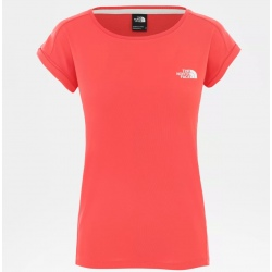 T-shirt The North Face W TANKEN TANK cayenne red/tnf white
