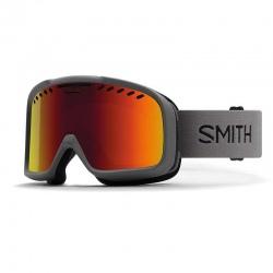 Masque de ski Smith PROJECT FOG X Black/Red Sol-X Mirror