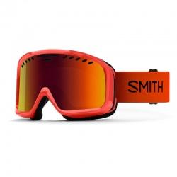 Masque de ski Smith PROJECT FOG X Charcoal / Red Sol-x mirror