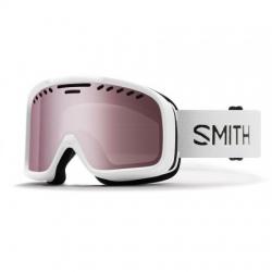 Masque de ski Smith PROJECT FOG X ANTI FOG INNER LENS White/Ignitor Mirror