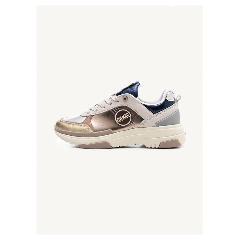Shoes Colmar TRAVIS S-1 LUX warm gray/navy