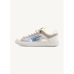 Chaussures Colmar BRADBURY JELLY white/lime