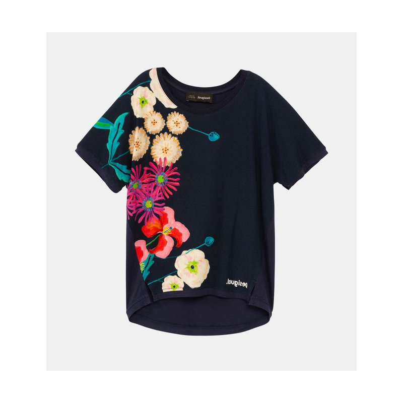T-shirt Desigual RHODEISLAND navy