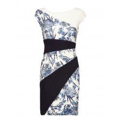 Dress Desigual DETROIT marine