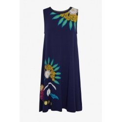 Robe Desigual LOVE OTHERS navy