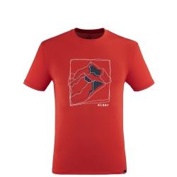 T-shirt Eider TAURUS TEE M fire mountains
