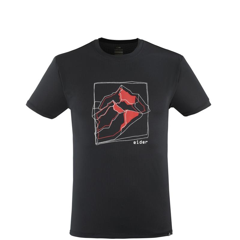 T-shirt Eider TAURUS TEE M black mountain