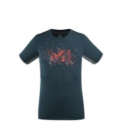 T-shirt Millet LTK PRINT LIGHT TS SS M orion blue