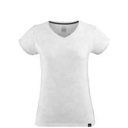 T-shirt Eider ODAIBA PRINT V NECK TEE W white stripes print