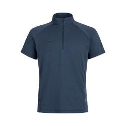T-shirt Mammut AEGILITY HALF ZIP T-SHIRT MEN marine melange