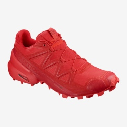 Chaussures de trail Salomon SPEEDCROSS 5 high risk red/barbados cherry/barbados cherry