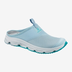 Shoes Salomon RX SLIDE 4.0 W cashmere blue / illusion blue / cerise