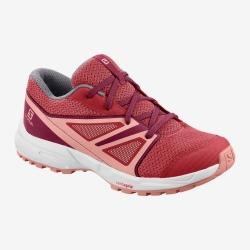 Chaussure de running SENSE J garnet rose / beet red / coral almond