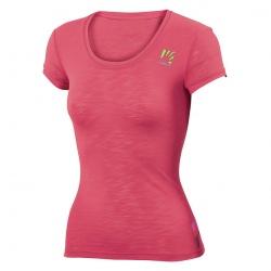 T-shirt Karpos PROFILI LITE W JERSEY Paradis Pink