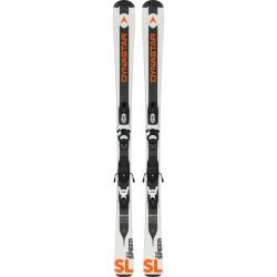 Pack de ski Dynastar TEAM SPEED 100-130 (KID-X) + fix KID-X 4 B76 black/white