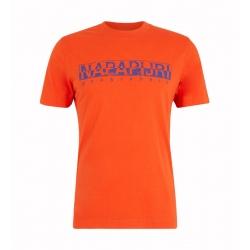 T-shirt Napapijri SOLANOS orangeade