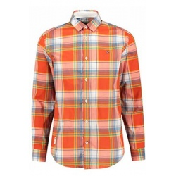 Chemise Napapijri GRINNEL orange