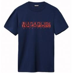 T-shirt Napapijri SOLANOS medieval blue