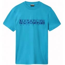 T-shirt Napapijri SOLANOS reef turquoise