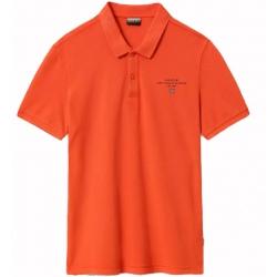Polo shirt Napapijri ELBAS orangeade