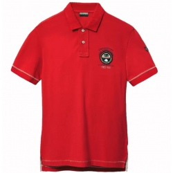 Polo shirt Napapijri ELICE bright red